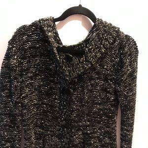 BCBG button down sweater